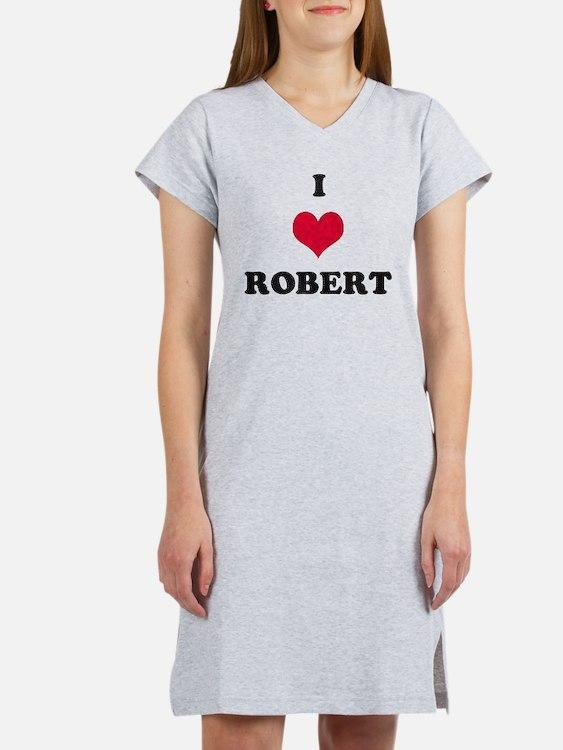 I Love Robert Women's Nightshirt