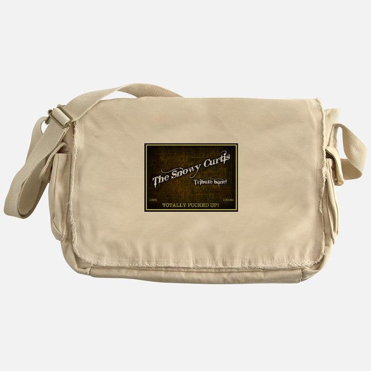Snowy Curtis 'Original' Band Logo Messenger Bag