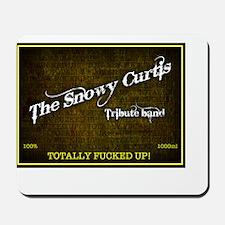 Snowy Curtis 'Original' Band Logo Mousepad