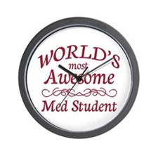 Awesome Med Student Wall Clock