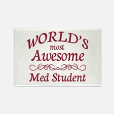 Awesome Med Student Rectangle Magnet