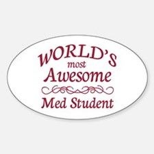 Awesome Med Student Decal