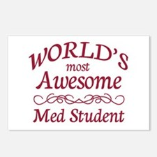 Awesome Med Student Postcards (Package of 8)