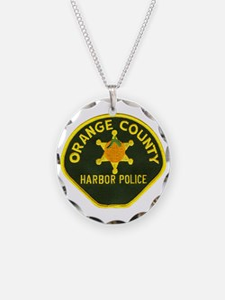 Orange County Harbor Police Necklace