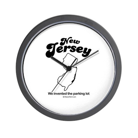 NEW JERSEY: We invented the parking lot Wall Clock