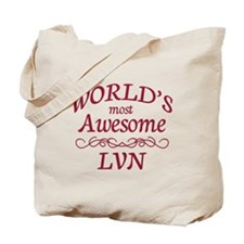Awesome LVN Tote Bag