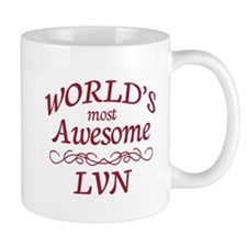 Awesome LVN Mug