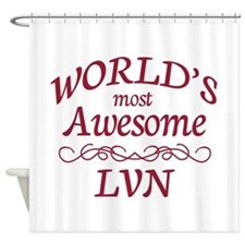Awesome LVN Shower Curtain
