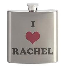 I Love Rachel Flask