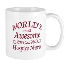Awesome Hospice Nurse Mug