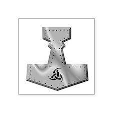 Steel Hammer Oval Sticker