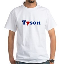 Tyson with Heart Shirt