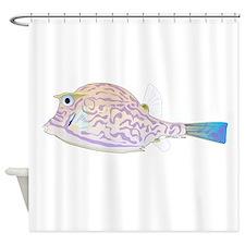 Cowfish fish Shower Curtain