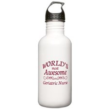 Awesome Geriatric Nurse Water Bottle