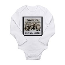 America Designed By Geniuses Run By Idiots Baby Outfits