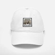 America Designed By Geniuses Run By Idiots Baseball Baseball Cap