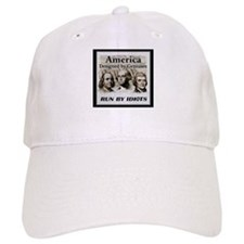 America Designed By Geniuses Run By Idiots Baseball Cap