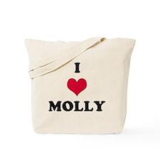 I Love Molly Tote Bag