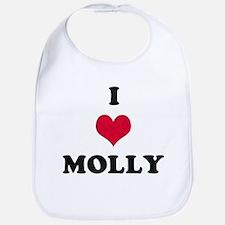 I Love Molly Bib