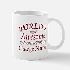 Awesome Charge Nurse Mug