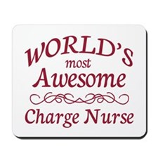 Awesome Charge Nurse Mousepad