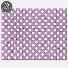 Lavender Polka Dots Puzzle
