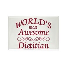 Awesome Dietitian Rectangle Magnet