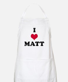 I Love Matt Apron