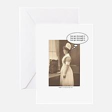 Get Thru Nursing School Greeting Cards (Pk of 10)