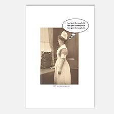 Get Thru Nursing School Postcards (Package of 8)