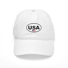 USA 3.png Baseball Cap