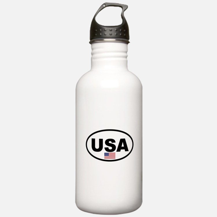 USA 3.png Water Bottle
