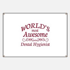 Awesome Dental Hygienist Banner