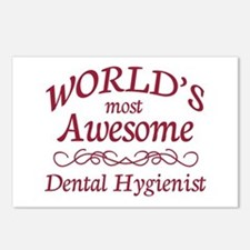 Awesome Dental Hygienist Postcards (Package of 8)