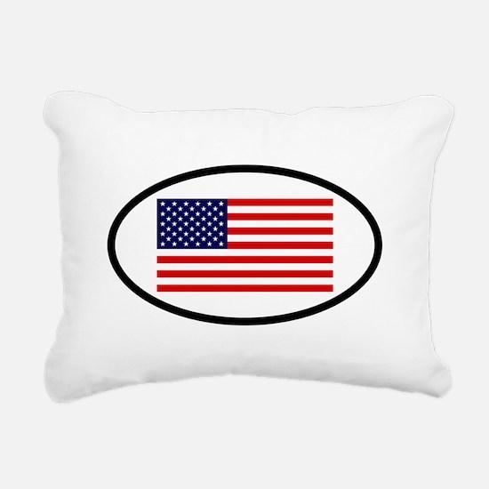 USA 7.png Rectangular Canvas Pillow