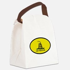 TREAD2.png Canvas Lunch Bag