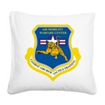 AMWC shield Square Canvas Pillow