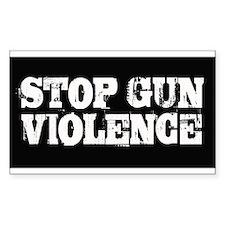 Stop Gun Violence Decal