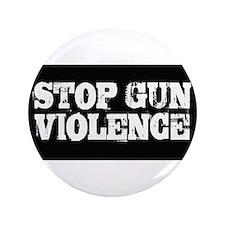 """Stop Gun Violence 3.5"""" Button"""