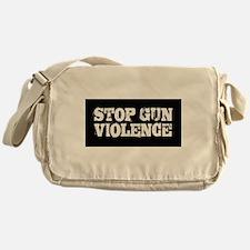 Stop Gun Violence Messenger Bag