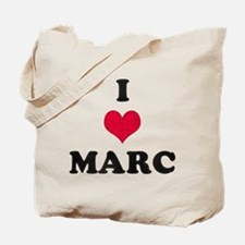 I Love Marc Tote Bag
