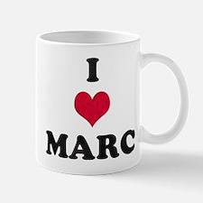 I Love Marc Mug