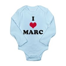 I Love Marc Onesie Romper Suit