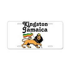 Kingston, Jamaica Aluminum License Plate