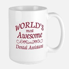 Awesome Dental Assistant Large Mug