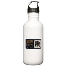 Tongass Black Bear Badge Water Bottle