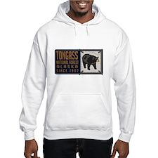 Tongass Black Bear Badge Hoodie Sweatshirt