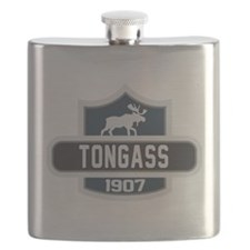 Tongass Nature Badge Flask