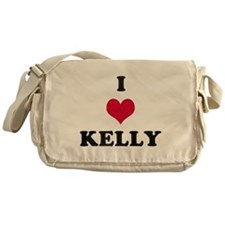 I Love Kelly Messenger Bag