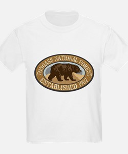 Tongass Brown Bear Badge T-Shirt